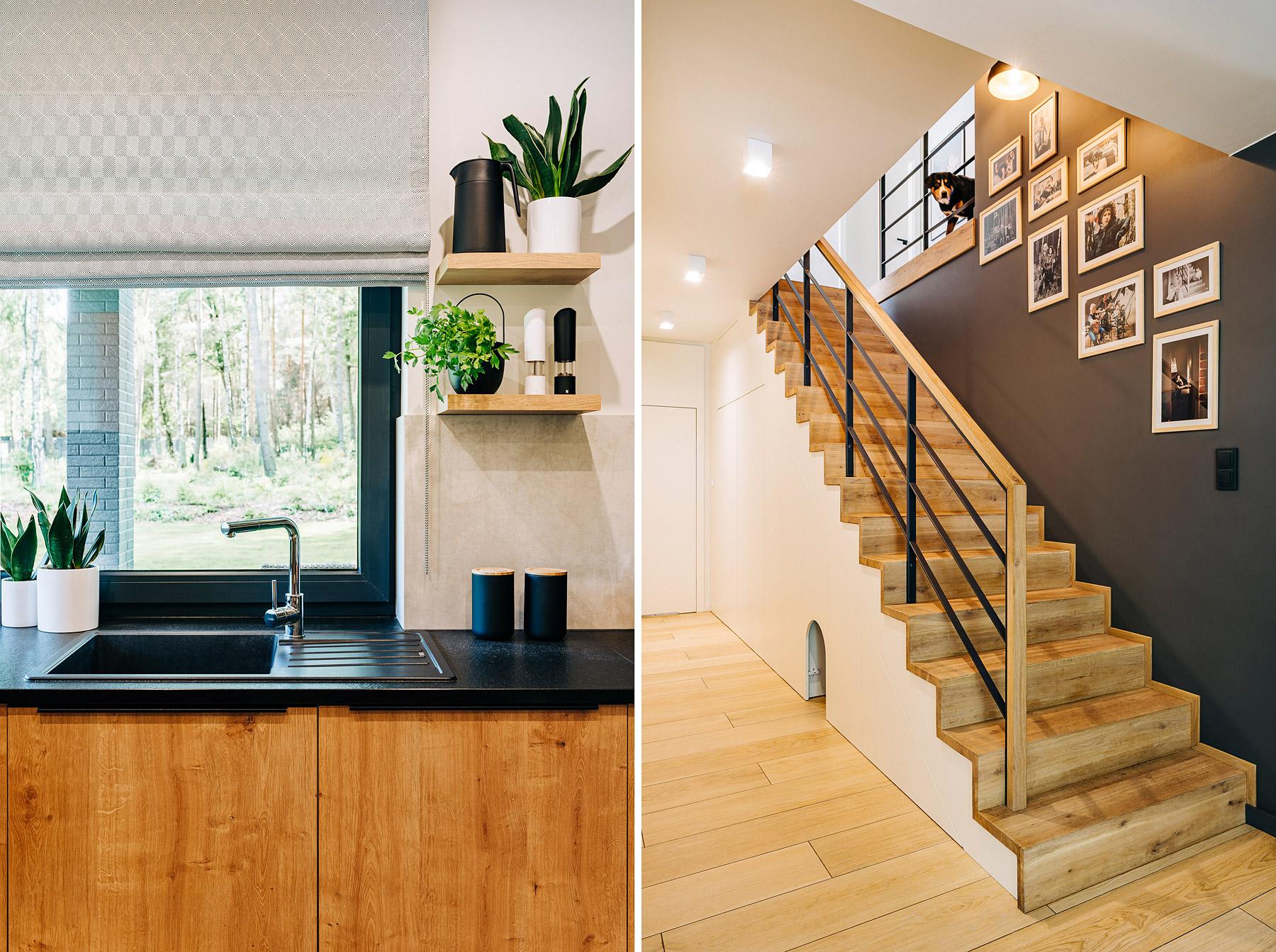 fotografia wnętrz kuchnia w domu